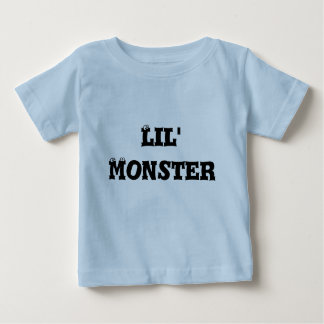 Camiseta infantil, azul clara, monstruo de Lil