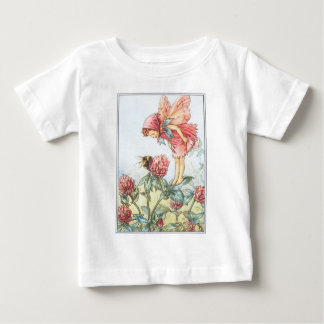 Camiseta infantil de hadas del niño del trébol