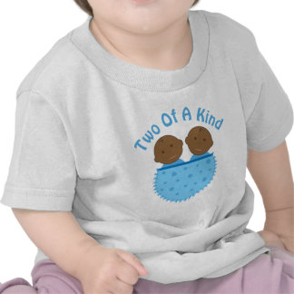Camiseta infantil de los bebés étnicos gemelos del