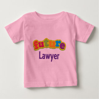 Camiseta infantil del bebé del abogado (futuro)