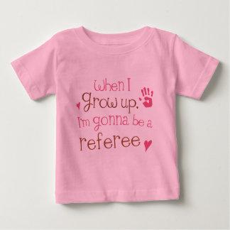 Camiseta infantil del bebé del árbitro (futuro)