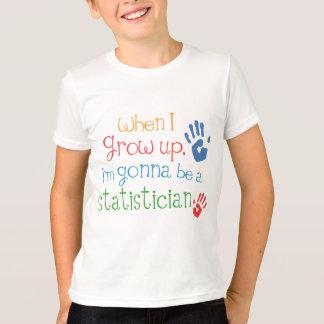 Camiseta infantil del bebé del estadístico