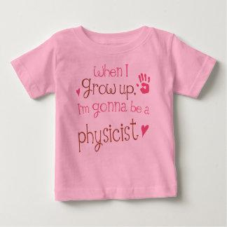 Camiseta infantil del bebé del físico (futuro)