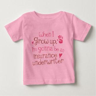 Camiseta infantil del bebé del suscriptor de