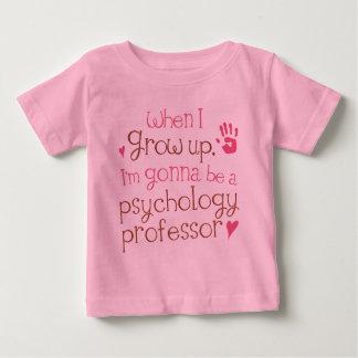 Camiseta infantil del profesor de la psicología