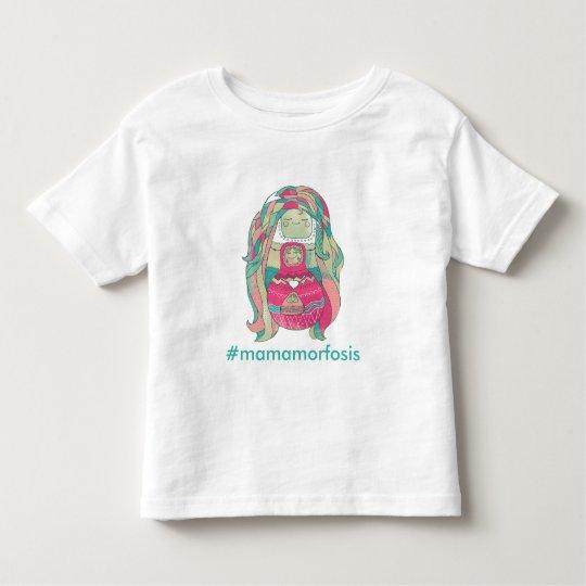 """Camiseta infantil """"#Mamamorfosis"""" Personalizable"""