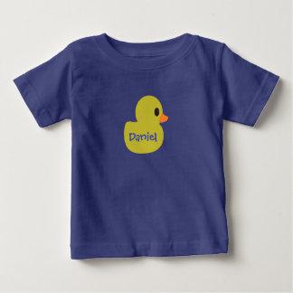 "Camiseta infantil personalizada ""Ducky"" de goma"