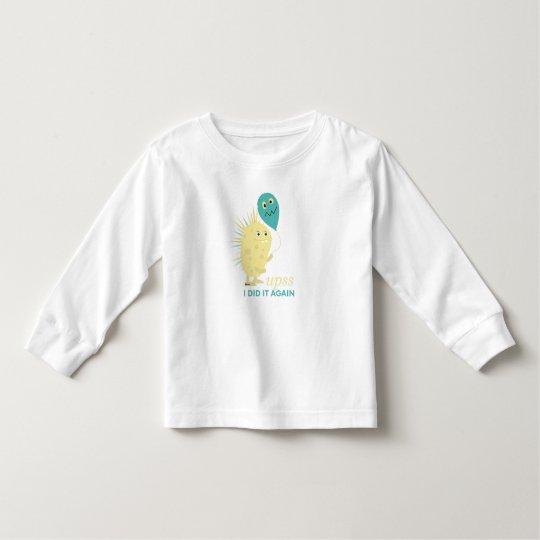 Camiseta infantil Upsss I did it again