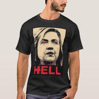 Camiseta Infierno torcido de Hillary Clinton - Anti-Hillary