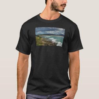 Camiseta Inflamación hermosa en la playa de hombres 2017
