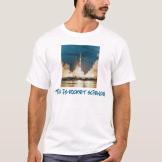 Camiseta Ingeniería espacial