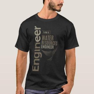 Camiseta Ingeniero de los recursos hídricos