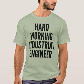 Camiseta Ingeniero industrial de trabajo duro