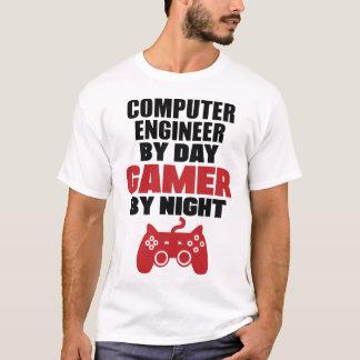 Camiseta Ingeniero informático por videojugador del día por