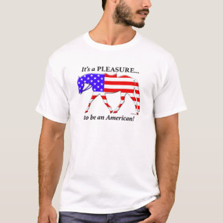 Camiseta inglesa de encargo del placer de