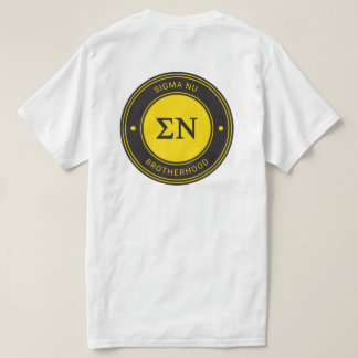 Camiseta Insignia de NU el   de la sigma