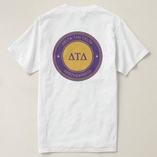 Camiseta Insignia del delta el | del Tau del delta