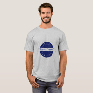 Camiseta Insignia experta azul del Napper