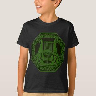 Camiseta Insignia verde del Lyre