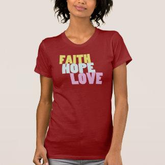 Camiseta inspirada de la fe, de la esperanza y del