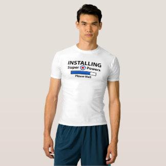Camiseta INSTALACIÓN de superpoderes