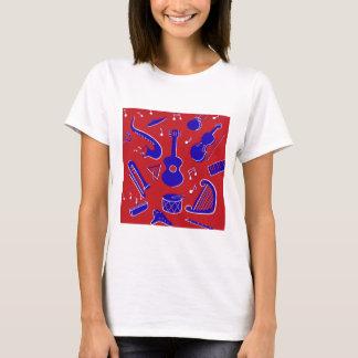 Camiseta Instrumentos musicales