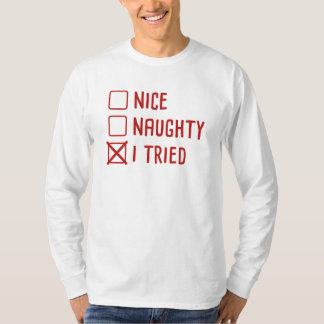 Camiseta Intenté