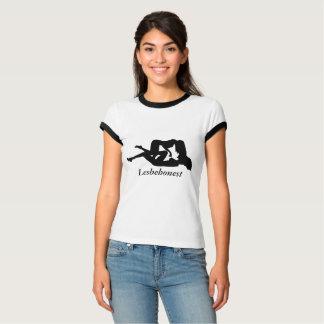 Camiseta Interés lesbiano de Lesbehonest de sentimientos