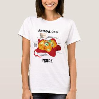 Camiseta Interior animal de la célula (biología celular del