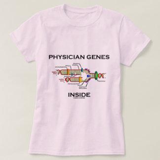 Camiseta Interior de los genes del médico (réplica de la