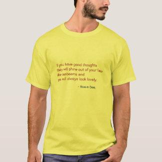 Camiseta - interior precioso y hacia fuera