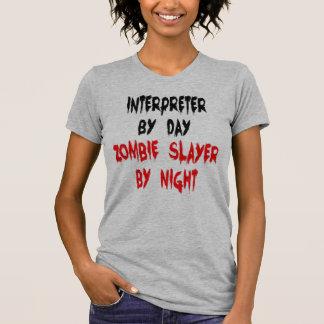 Camiseta Intérprete del asesino del zombi