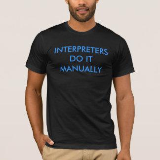 Camiseta Intérpretes