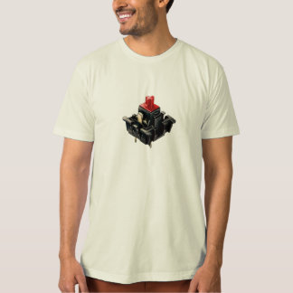 Camiseta Interruptor mecánico del MX de la cereza
