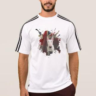 Camiseta Camiseta intrépida blanca de bull terrier Union