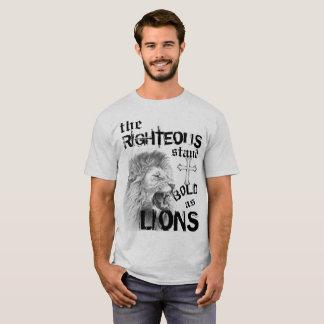 Camiseta Intrépido como leones