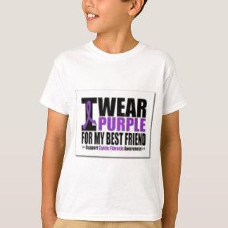Camiseta Investigación de la fibrosis quística de la ayuda