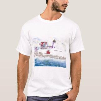 Camiseta Invierno en el faro de la protuberancia pequeña en