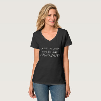Camiseta Invitación embarazada divertida