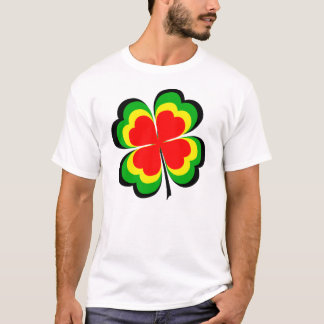 Camiseta Irlandés afortunado Rasta