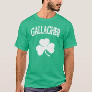 Camiseta Irlandés de la herencia de la familia de Gallagher