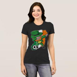Camiseta Irlandés del fútbol del Leprechaun del día de St