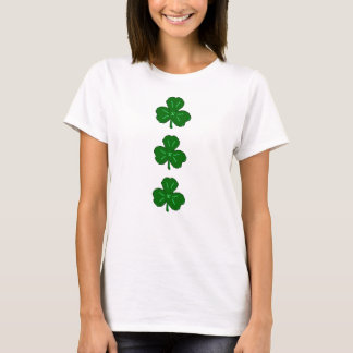 Camiseta Irlandés verde afortunado del día del St. Patricks