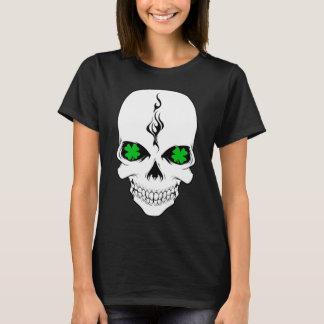 Camiseta irlandesa de los tréboles de Smokin del