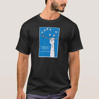 Camiseta irlandesa del ejército del ciudadano