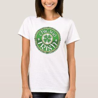 Camiseta irlandesa del trébol de Chicago