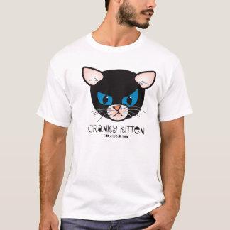 camiseta irritable del gatito