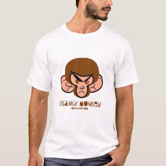 camiseta irritable del mono