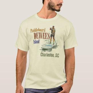 Camiseta Isla de Paddleboard Dewees, Charleston, SC