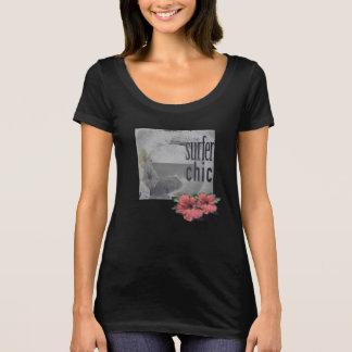 Camiseta Isla-playa-resaca-Camiseta-para-mujeres